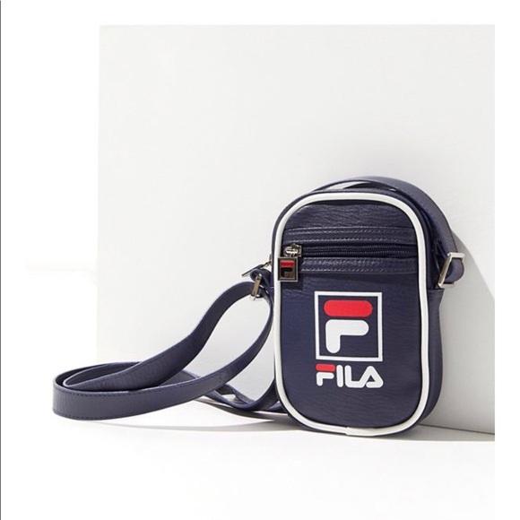 41a725ea3683 Fila Handbags - FILA Mini Shoulder Bag - Urban Outfitters